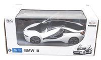 Jucărie teleghidată Rastar BMW i8 1:14 White