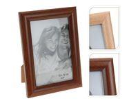 Rama foto din lemn 10X15cm, culoare naturala/cafenie