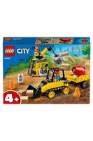 LEGO City  Buldozer pentru construcții, art. 60252
