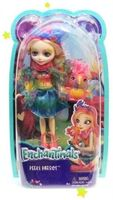 Кукла Enchantimals с питомцем - Пикки Какаду, 15 см, код FJJ21