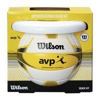 купить Набор Мяч волейбольный + фризби Wilson AVP BEACH KIT W/DISK WTX0523KIT (1046) в Кишинёве