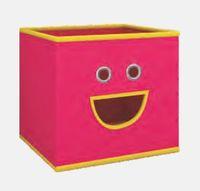 купить Текстильная коробка 280х280х280 мм, розовый в Кишинёве