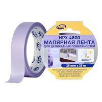 HPX 4800 Лента малярная (19mm*25m) для деликатных поверхностей УФ-стабильна + 60 С