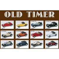 Welly  OLD TIMER 1:34 metal 12 modele RETRO