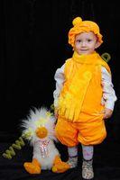 Карнавальный костюм: Колобок