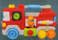 """Baby Mix PL-345823 Развивающая игрушка """"Пожарная машина"""""""