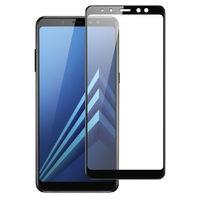 Защитное стекло Full Cover (3D)  Samsung Galaxy A8 Plus (2018)