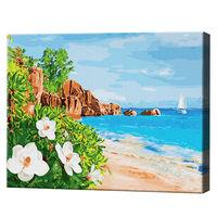 Natura minunată a insulei, 40х50 cm, pictură pe numere Articol: GX27767