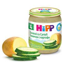 Piure de dovlecel cu cartofi Hipp (4+ luni), 125g