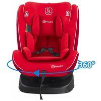Автокресло с isofix BabyGo Nova 360° Red (0 - 36 кг)