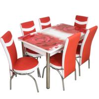 Комплект Келебек ɪɪ 242 + 6 стульев