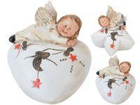 """купить Сувенир """"Ангел"""" лежащий на сердце / звезде 6.8сm в Кишинёве"""