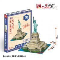 CubicFun 3D пазл Statue of Liberty