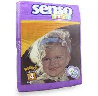 Senso Baby Scutece Maxi 4, 7-18 kg, 66buc.