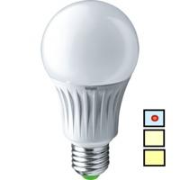 (A) LED (10W) NLL-A60-10-230-6.5K-E27 (Standard)