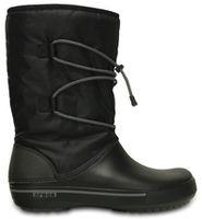 Women's Crocband II.5 Cinch Boot Black / Charcoal