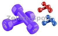 Гантели для фитнеса с виниловым покрытием A803