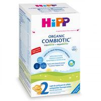 Hipp 2 Combiotic organic молочная смесь, 6+мес. 800 г