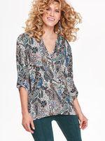 Блуза TOP SECRET Бежевый с принтом skl2754