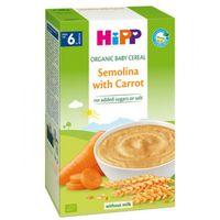 Hipp каша пшенично-рисовая органическая безмолочная с морковью, 6+мес. 200г