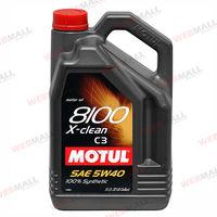 Масло моторное Motul, 5W30 8100 X-CLEAN 4L