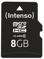 Сard de memorie Intenso MicroSD 8GB Class 10