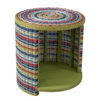 купить Круглый стол, 600х600х635 мм, цветной ротанг в Кишинёве