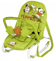 Bertoni Top Relax Green&Orange Puppies