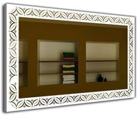 J-Mirror Elide 60x60 Aluminium Frame