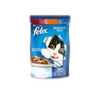Felix с индейкой и печенью в желе