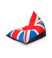 BEAN BAG UK - Triangle Bean Bag XXL, синий-красный