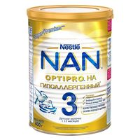 Nestle NAN Гипоаллергенный 3  400r (190110000)
