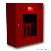 Шкаф пожарный со стеклом (НОК 310) 540x650x230