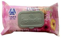 Салфетки влажные Freshmaker Camomile/Daisy 100шт  с крышкой