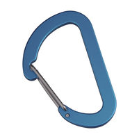 Брелок Munkees Flat Wiregate Carabiner 4 x 40 mm (2 pcs), 3251