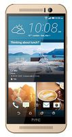 HTC One M9 LTE (32GB), Gold on Silver