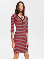 Платье RESERVED Красный в полоску vf798