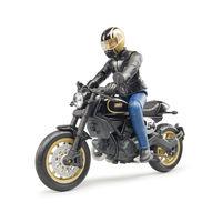 Motocicleta Ducati Scrambler Cafe Racer cu șofer, cod 42313