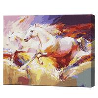 Caii care aleargă, 40x50cm, pictură pe numere Articol: GX9860