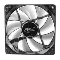"""80mm Case Fan - DEEPCOOL """"WIND BLADE 80"""" Fan with 4 blue LED, 80x80x25mm, 1800rpm, <20dBa, 21.8CFM , Hydro Bearing, Black"""
