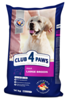 Клуб 4Лапы Premium Корм для крупных собак ,14кг