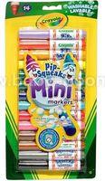 Crayola 8343 Мини фломастеры смываемые (14 шт.)