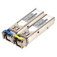 SFP 1G Module WDM, 1310/1550nm (pair) LC DDM 20km