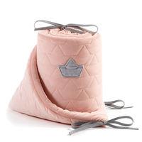Бортики в кроватку LaMillou Velvet Collection Powder Pink