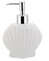 Дозатор жидкого мыла Axentia Seashell (132822)