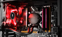"DEEPCOOL Liquid Cooler ""MAELSTROM 120T Red"", Socket 775/1150/1151/1155/2011 & FM2/AM3+"