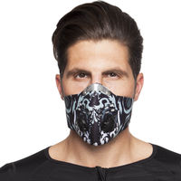 Masca protectie fata windproof MS-0301 neoprene( black) (3837)