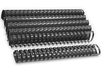 ARGO Пружина пластиковая ARGO A4/51мм, 10 штук, овал черная