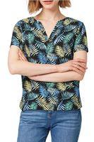 Bluza TOM TAILOR Negru cu imprimeu 1010503 17262
