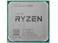AMD Ryzen 5 3350G APU (3,6-4,0 ГГц, 4C / 8T, L2 2 МБ, L3 4 МБ, 12-нм, Radeon Graphics, 65 Вт), AM4, лоток